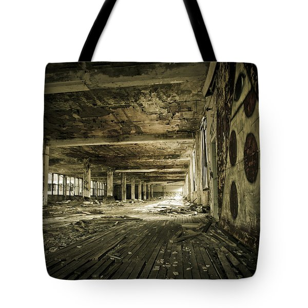 Crumbling History Tote Bag