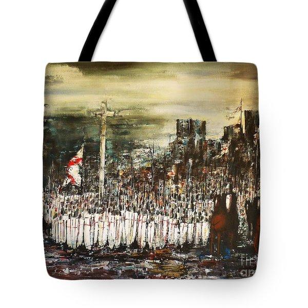 Crusade Tote Bag by Kaye Miller-Dewing