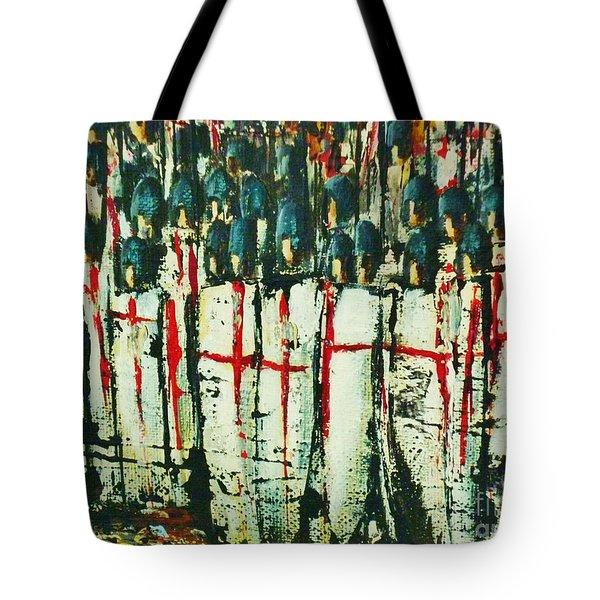 Crusade Shields 4. Tote Bag