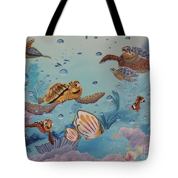Crush'n'squirt Tote Bag by Dianna Lewis