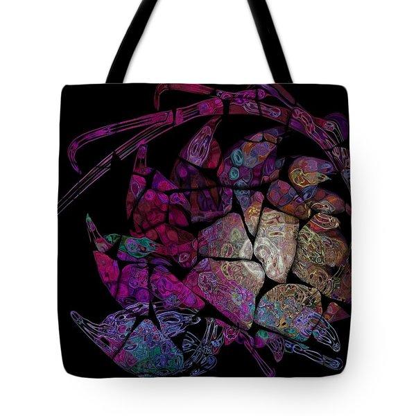Crustacean Tote Bag by Amanda Moore
