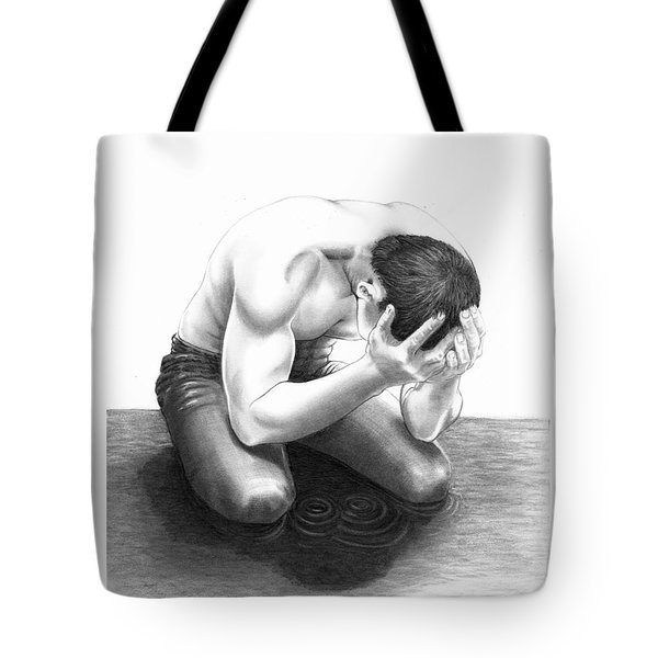 Cry Me A River Tote Bag by Murphy Elliott