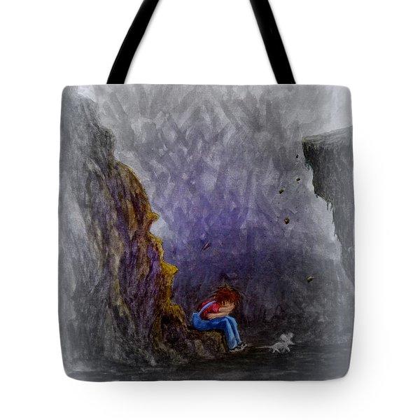 Crying ... Tote Bag by Matt Konar