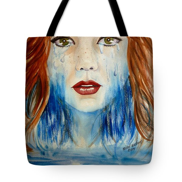 Crying A River Tote Bag