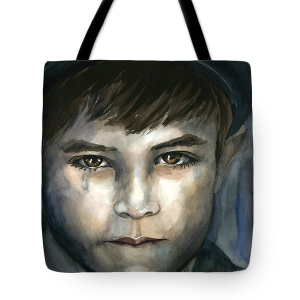 Crying In The Shadows Tote Bag