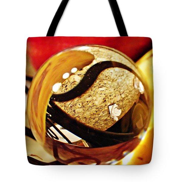 Crystal Ball Project 113 Tote Bag by Sarah Loft