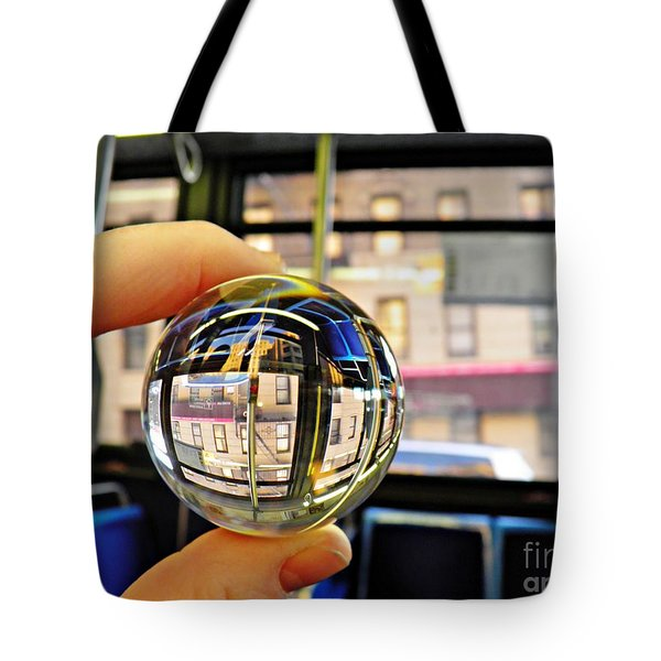 Crystal Ball Project 64 Tote Bag by Sarah Loft