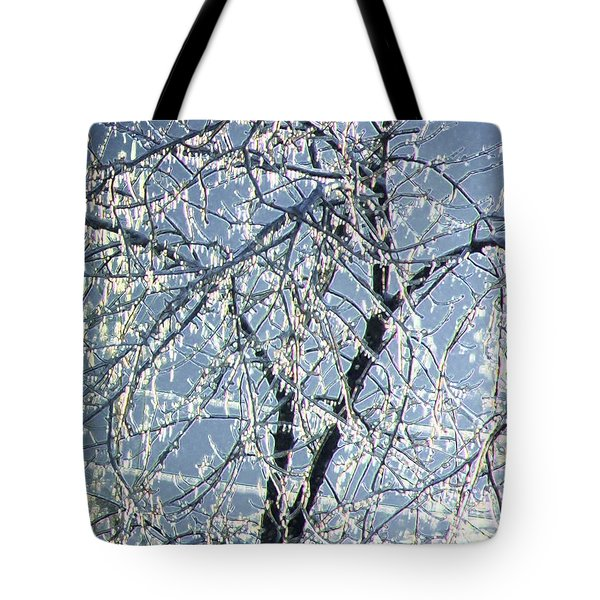 Crystal Beads Tote Bag by Kathleen Struckle