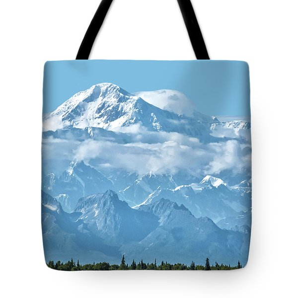 Crystal Clear Mt. Mckinley Tote Bag