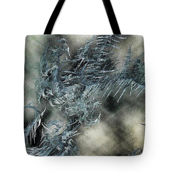 Tote Bag featuring the digital art Crystal Heaven by Steven Richardson