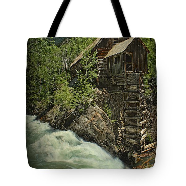 Crystal Mill Tote Bag by Priscilla Burgers