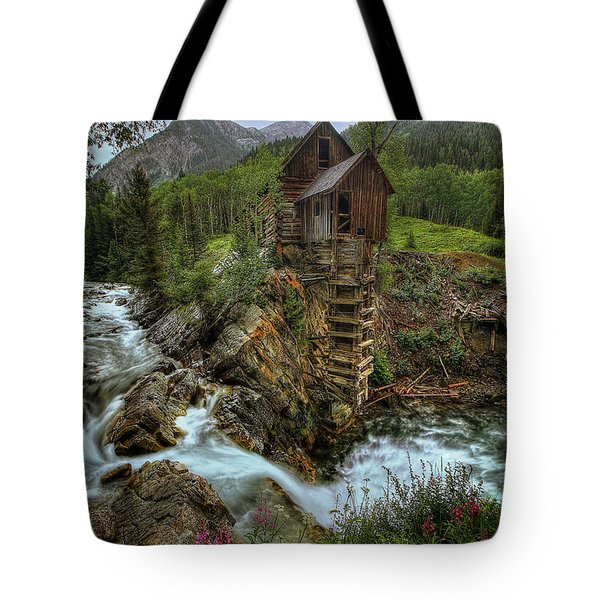 Crystal Mill Riverside Tote Bag