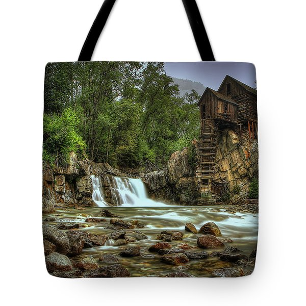 Crystal Mill   Tote Bag