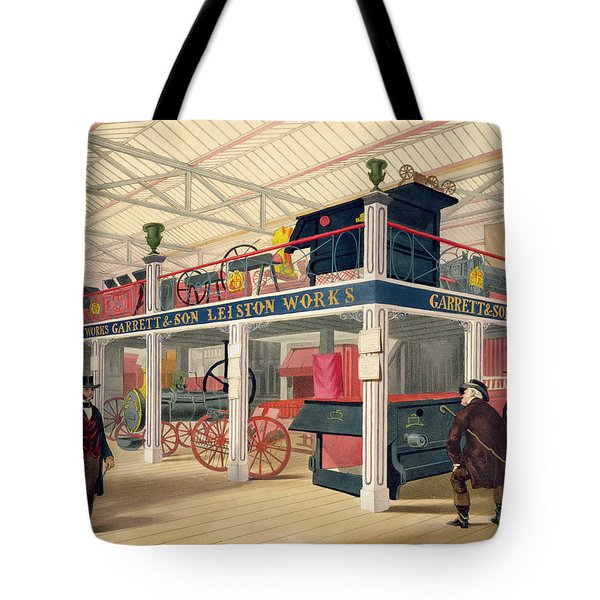 Crystal Palace, The Agricultural Court Tote Bag