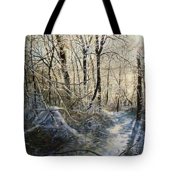 Crystal Path Tote Bag