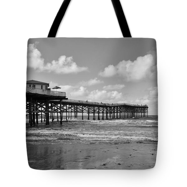 Crystal Pier In Pacific Beach Tote Bag