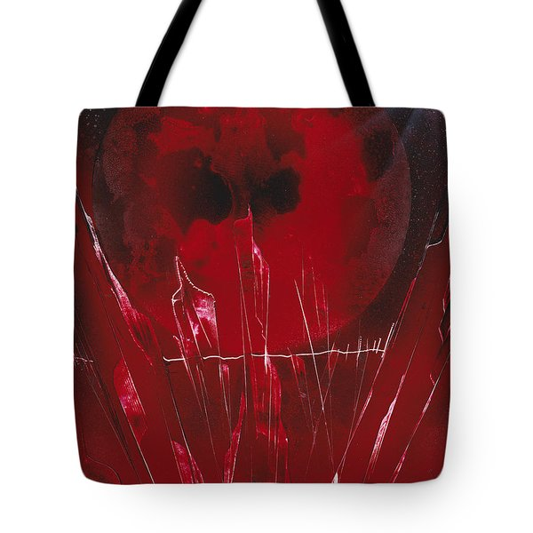 Crystal Planet Tote Bag