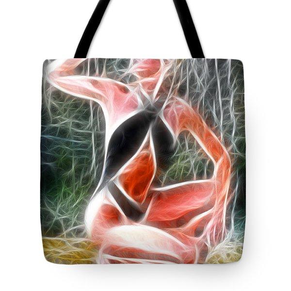 Crystal Sling Fractal Tote Bag by Gary Gingrich Galleries