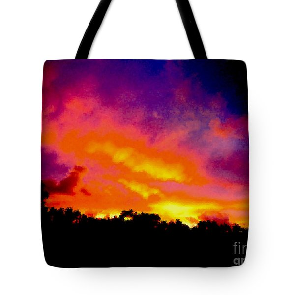 Crystal Sunrise Tote Bag by Mark Blauhoefer