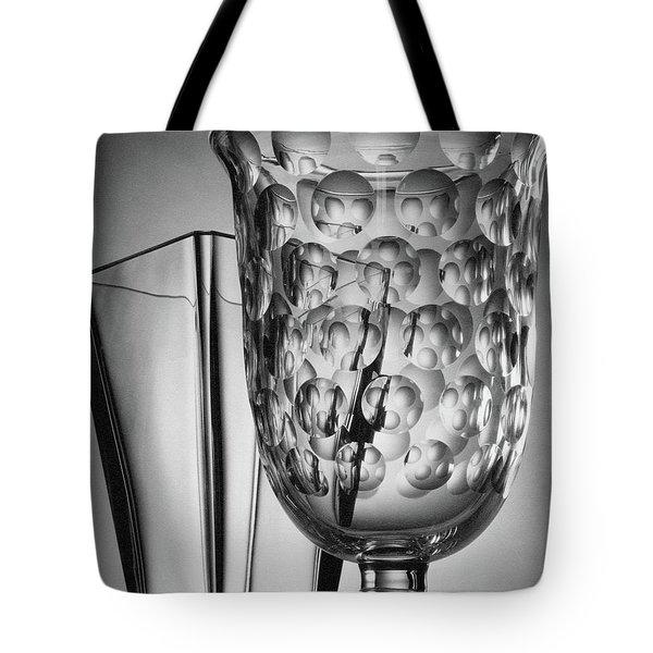 Crystal Vases From Steuben Tote Bag
