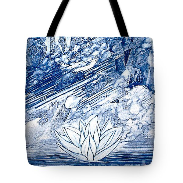 Crystill Tote Bag by Heather  Hiland