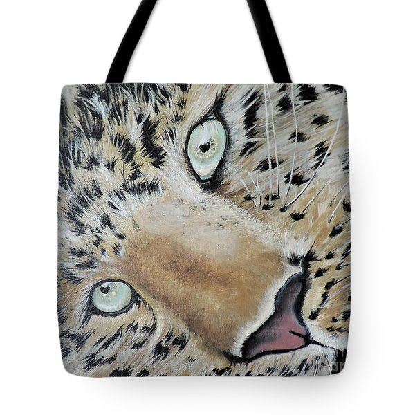cub Tote Bag by Dianna Lewis