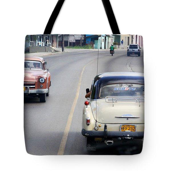 Cuba Road Tote Bag
