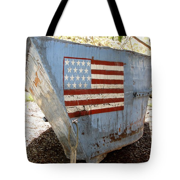 Cuban Refugee Boat 4 Tote Bag