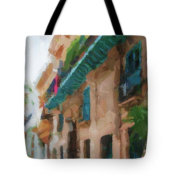 Cuban Street Tote Bag
