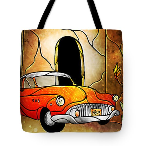 Que Rico Cuban Street Tote Bag