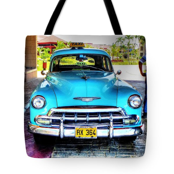 Cuban Taxi			 Tote Bag by Pennie  McCracken