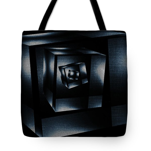 Cube In Cube Tote Bag by Ramon Martinez