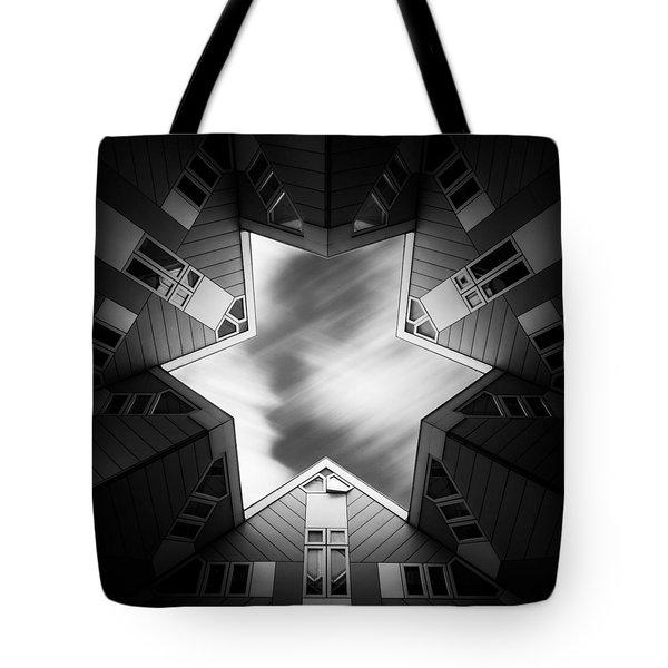 Cubic Star Tote Bag