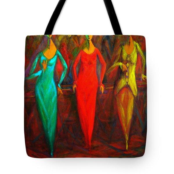 Cubism Dance II Tote Bag