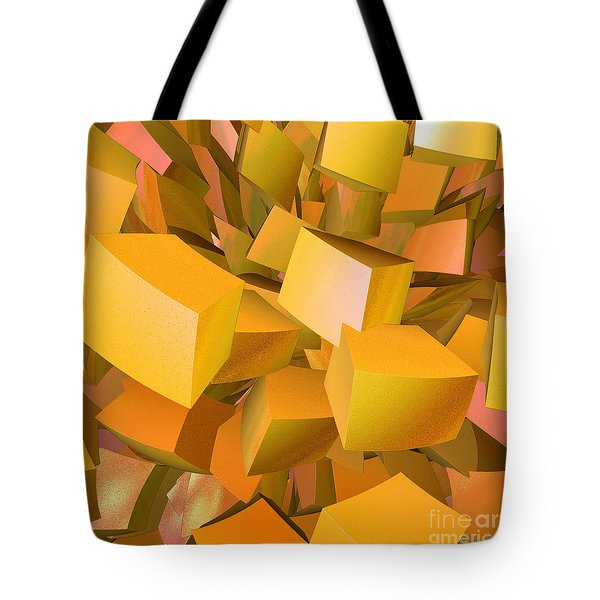 Cubist Melon Burst By Jammer Tote Bag