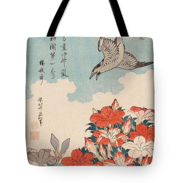 Cuckoo And Azaleas Tote Bag