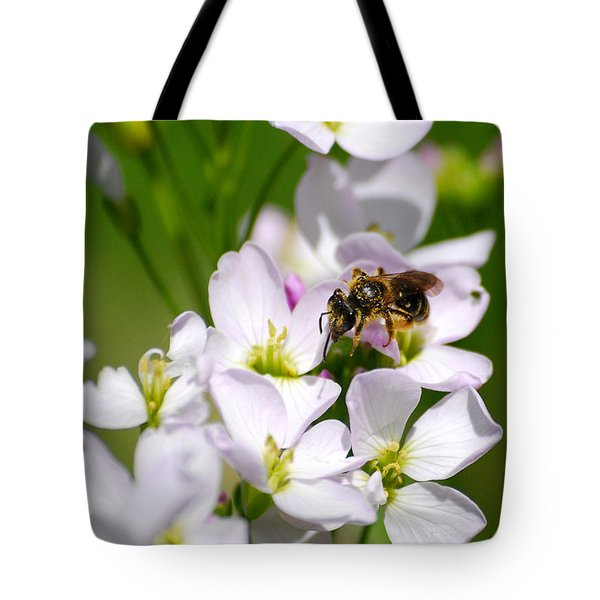 Cuckoo Flowers Tote Bag by Christina Rollo
