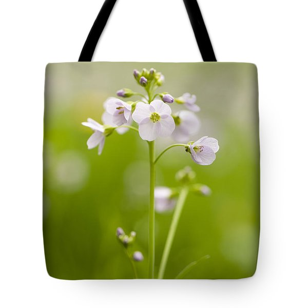 Cuckooflower Tote Bag by Anne Gilbert