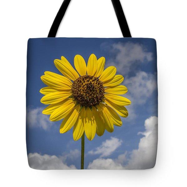 Cucumberleaf Sunflower Tote Bag