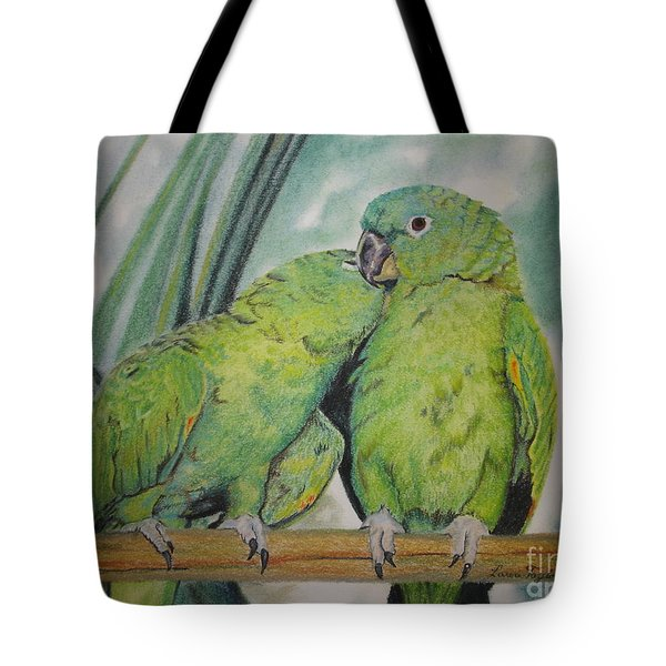 Cuddles Tote Bag by Laurianna Taylor
