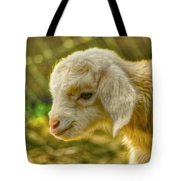 Cuddly Tote Bag by Dennis Baswell