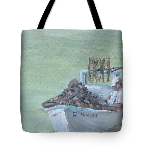 Culling The Catch Tote Bag by Susan Richardson
