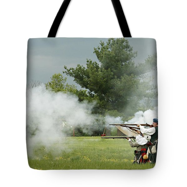 Tote Bag featuring the photograph Culloden Jacobites by Carol Lynn Coronios