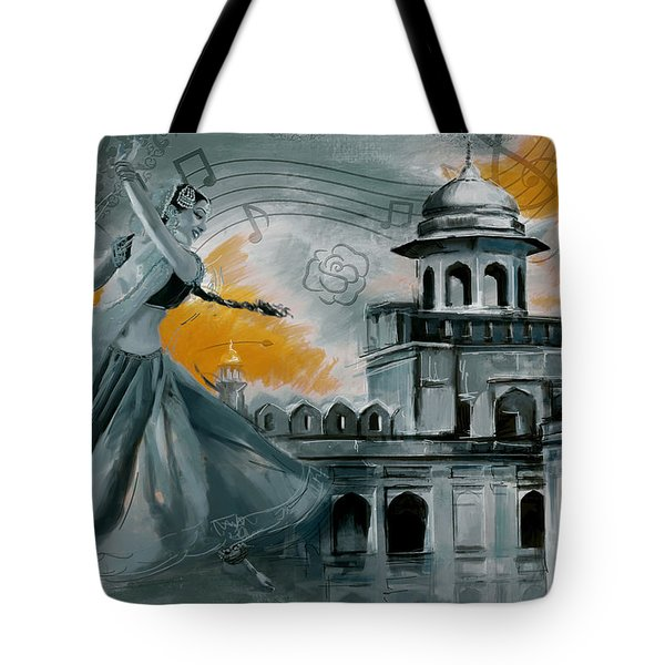 Cultural Dancer 2 Tote Bag by Catf