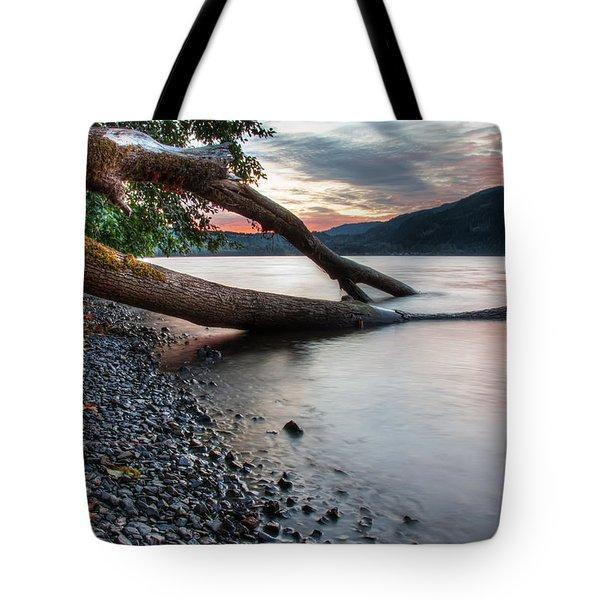 Cultus Lake Sunset Tote Bag