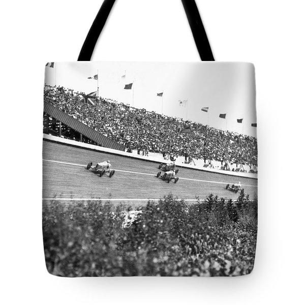 Culver City Speedway Action Tote Bag