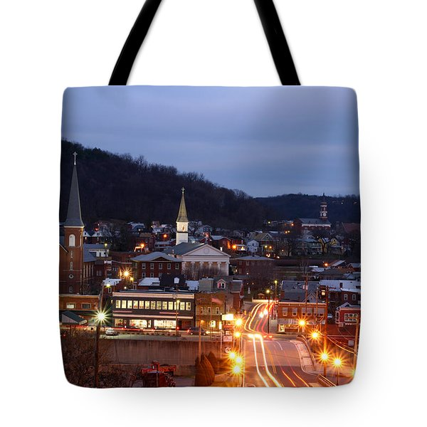 Cumberland At Night Tote Bag