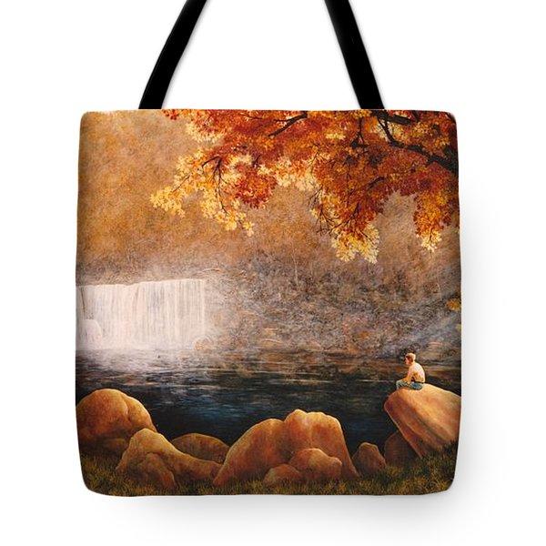 Cumberland Falls Tote Bag by Duane R Probus