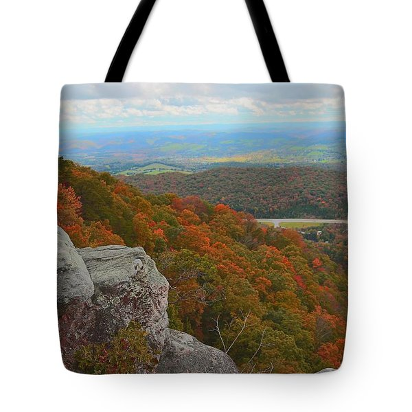 Cumberland Gap Tote Bag by Dennis Baswell