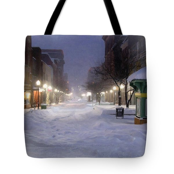 Cumberland Winter Tote Bag